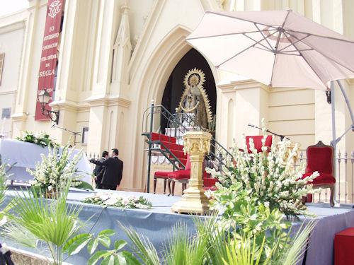 Virgen de regla chipiona en santuario